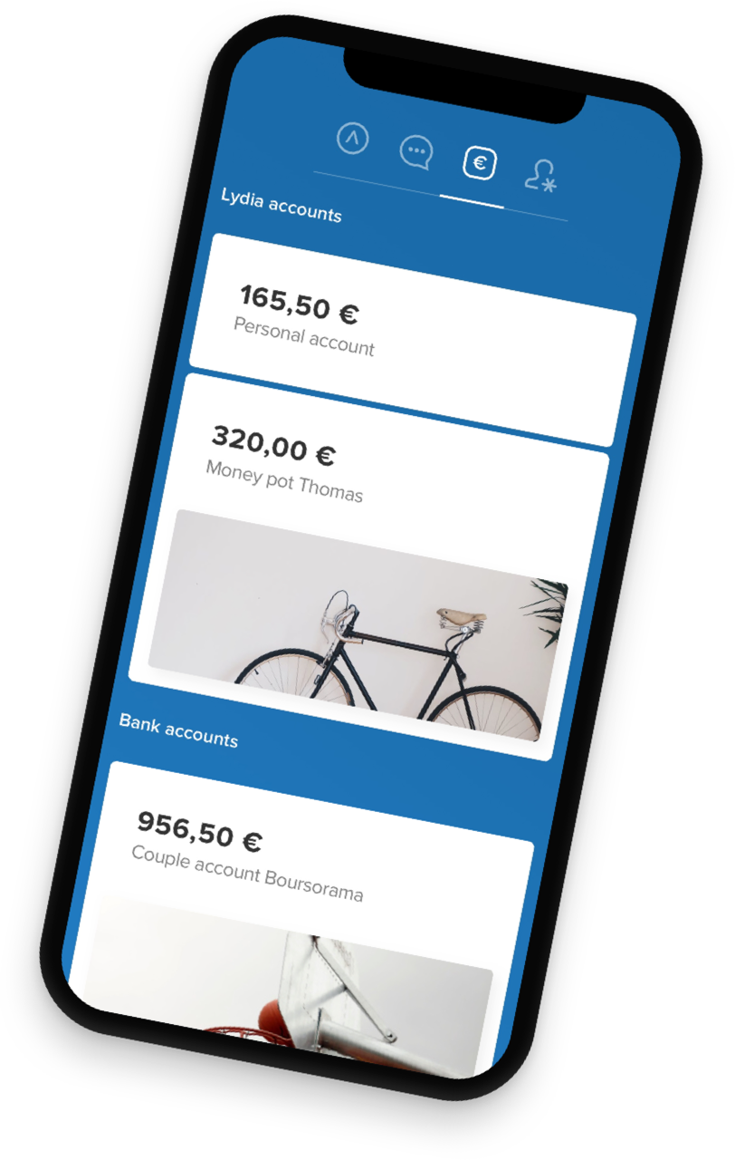 Lydia - mobile payment app